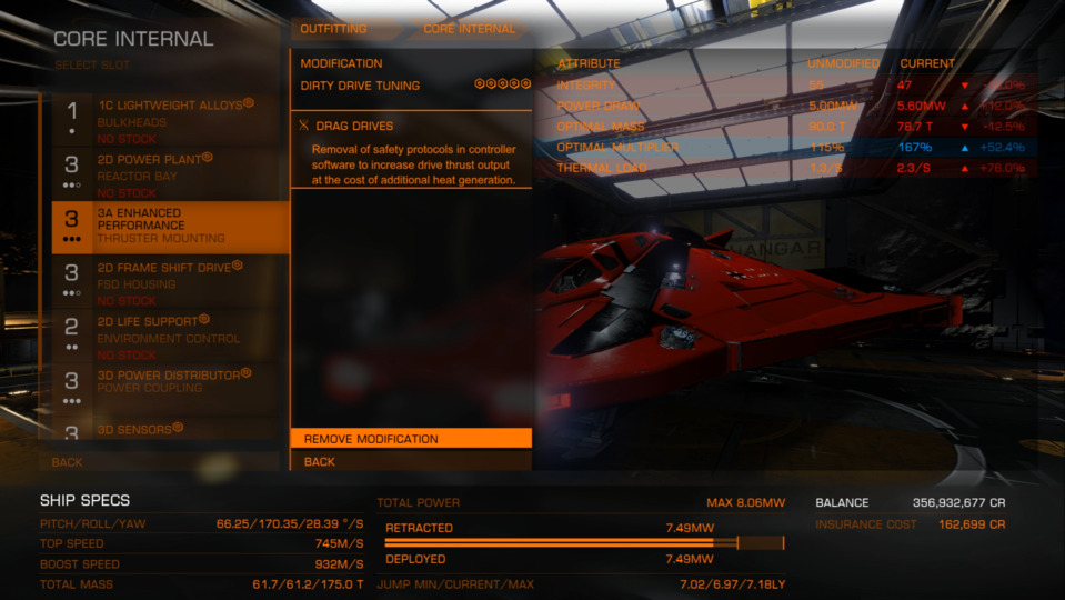 Ships Fastest ship in the galaxy | Frontier Forums